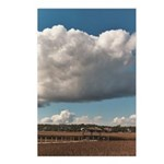 Creek Clouds 4 Postcards (Package of 8)