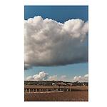 Creek Clouds 4 Postcards (Package of 8)