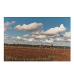 Creek Clouds 3 Postcards (Package of 8)