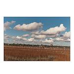 Creek Clouds 3 Postcards (Package of 8)