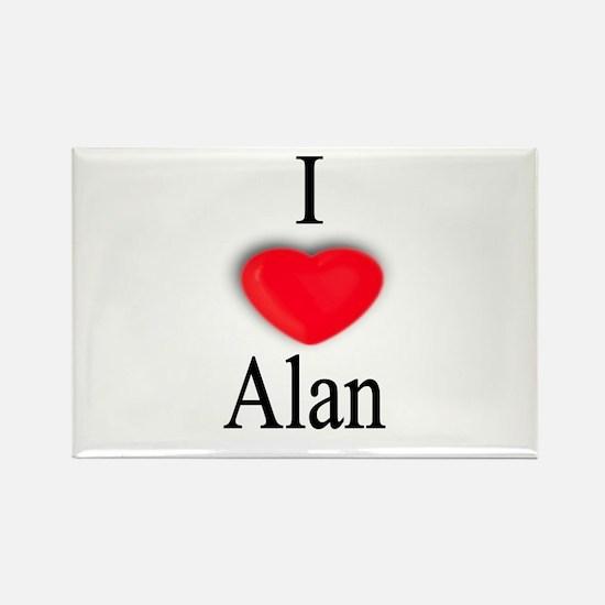 Alan Rectangle Magnet