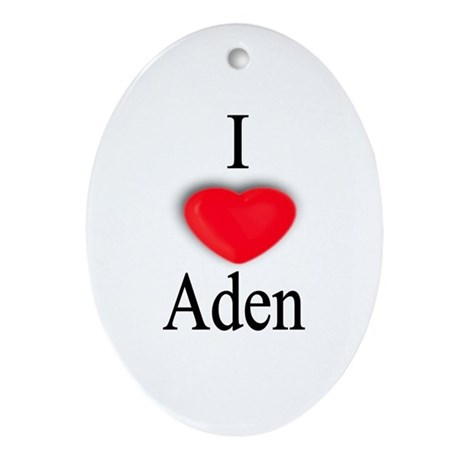 Aden Oval Ornament