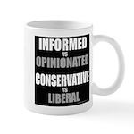 Informed vs Opinionated Mug