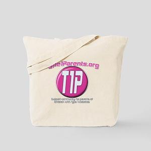 New Logo Pink Tote Bag