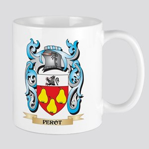 Perot Coat of Arms - Family Crest Mugs