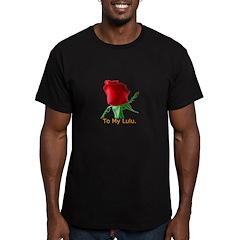 True Love Men's Fitted T-Shirt (dark)