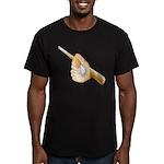 Baseball Gift Men's Fitted T-Shirt (dark)