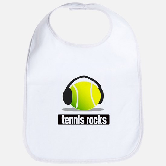 TENNIS ROCKS Bib