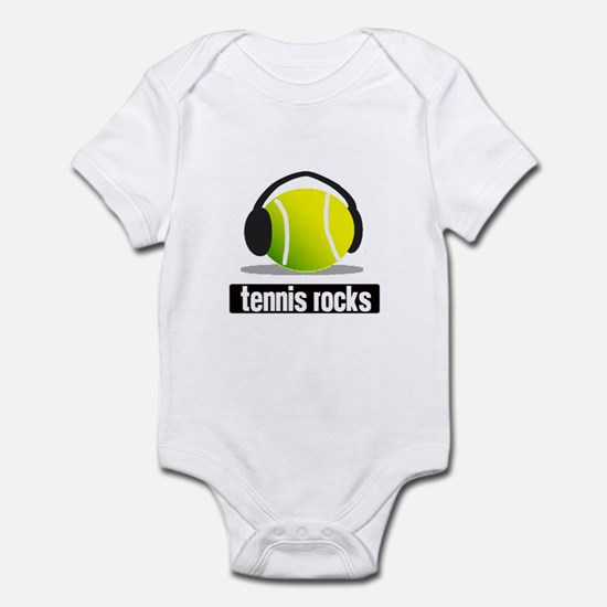 TENNIS ROCKS Infant Bodysuit