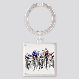 Cyclists Keychains