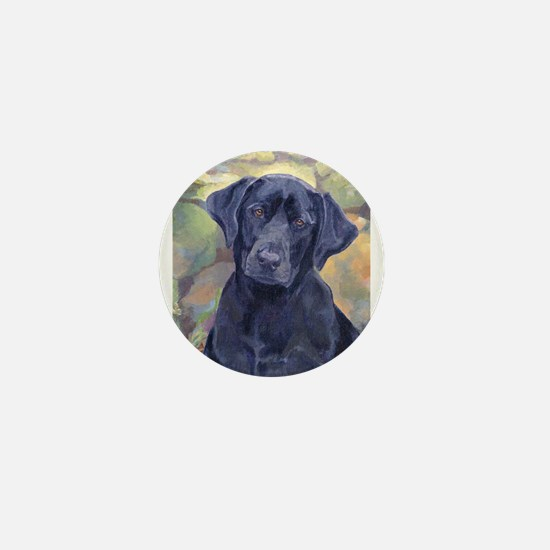 Sweet Black Labs Mini Button