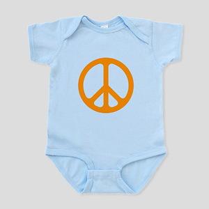Orange CND logo Infant Bodysuit