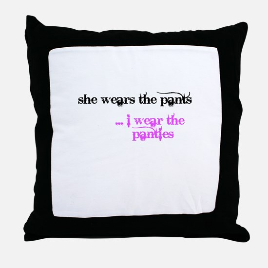 Cool Humiliation Throw Pillow