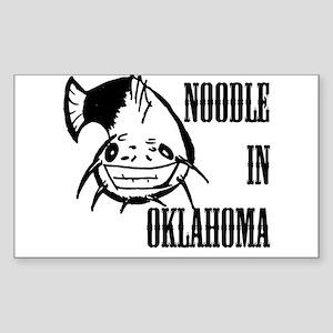 Noodling Rectangle Sticker