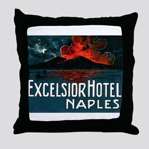 1921 Excelsior Hotel Throw Pillow