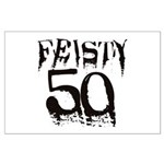 50th Birthday Large Poster