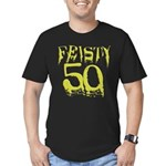 50th Birthday Men's Fitted T-Shirt (dark)