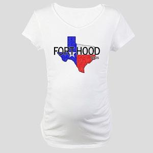 Fort Hood 2 Maternity T-Shirt