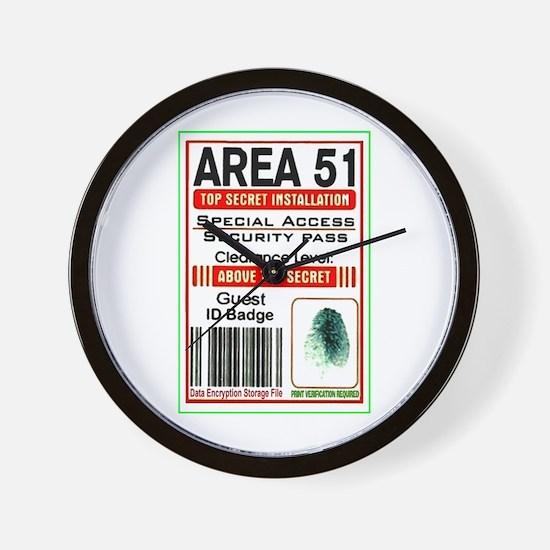 Cute Area 51 Wall Clock