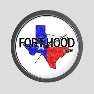 Fort Hood 2 Wall Clock