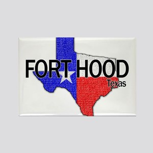 Fort Hood 2 Rectangle Magnet
