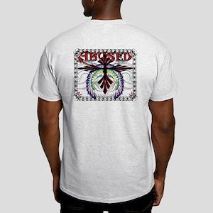 Abused Designs Winged Cross Light T-Shirt