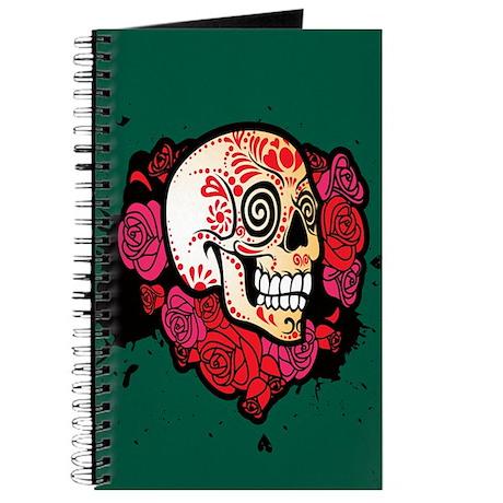 Rosey Sugar Skull Journal