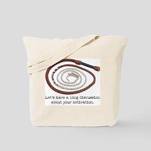Directorial Motivation Tote Bag