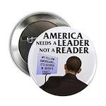"And Barack Obama - Reader not 2.25"" Button"