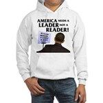 And Barack Obama - Reader not Hooded Sweatshirt