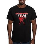 Internet Thug Men's Fitted T-Shirt (dark)