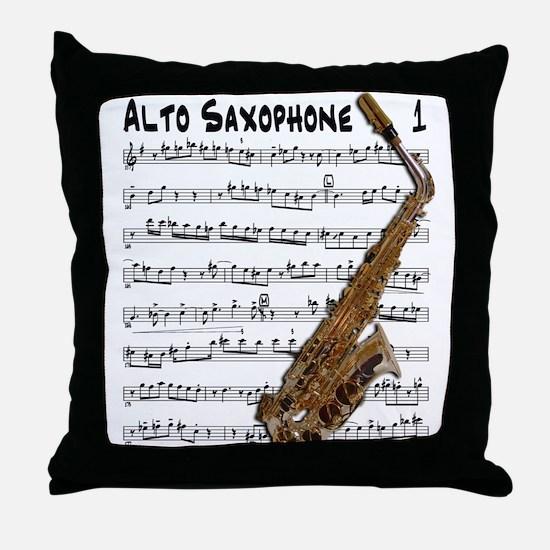 Lead Alto Throw Pillow