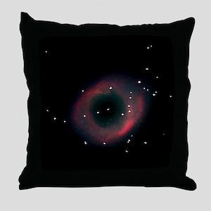 Helix Nebula Throw Pillow