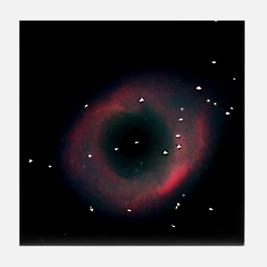 Helix Nebula Tile Coaster