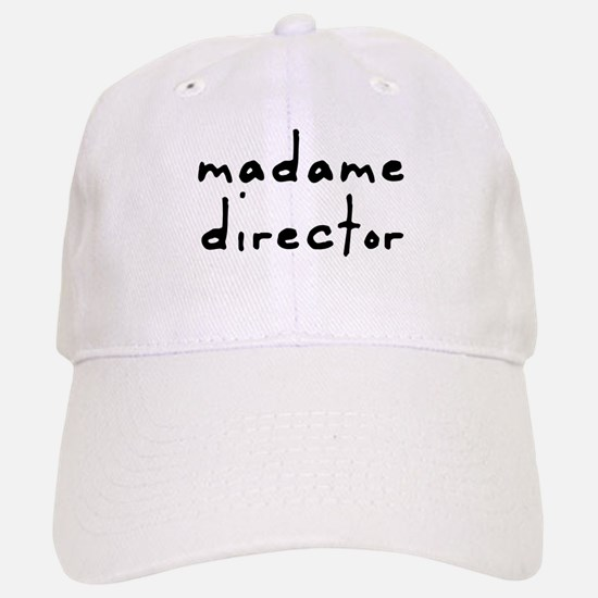 Madame Director Baseball Baseball Cap