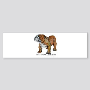 Bulldogs Life Motto Sticker (Bumper)