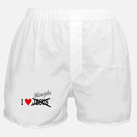 I love Blowjobs Boxer Shorts