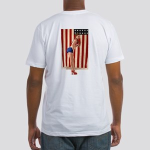 All-American Girl Fitted T-Shirt