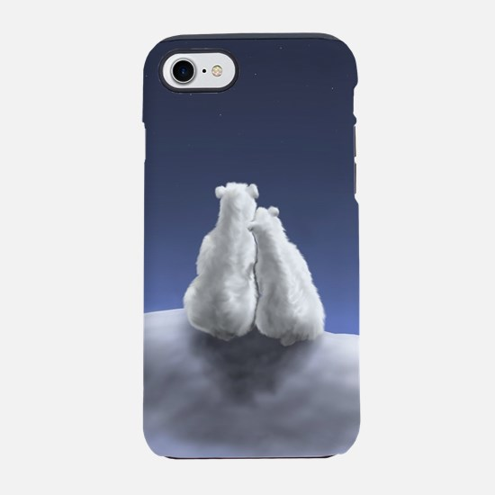 Polar Bears by Moonlight iPhone 7 Tough Case