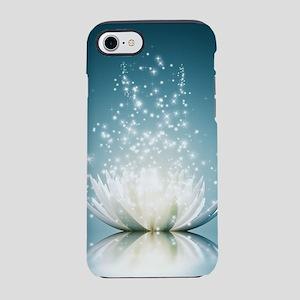 White Lotus Magic iPhone 7 Tough Case