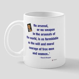 Reagan Courage Mug