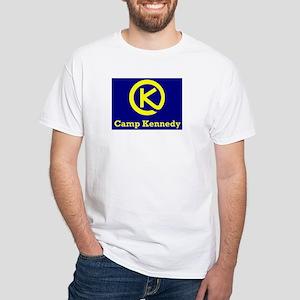 Camp Kennedy White T-Shirt