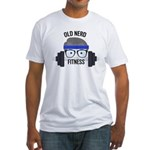 Old Nerd in the Gym Logo T-Shirt