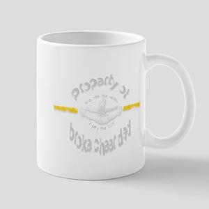 Broke Cheer Dad Yellow Mug