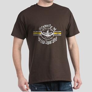 Broke Cheer Dad Yellow Dark T-Shirt
