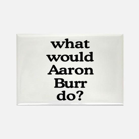 Aaron Burr Rectangle Magnet