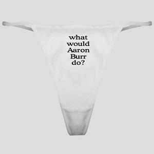 Aaron Burr Classic Thong