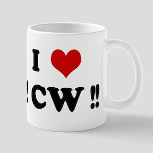 I Love !! CW !! Mug