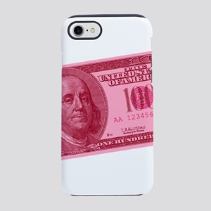 100-dollar-closeup_pink.png iPhone 7 Tough Case