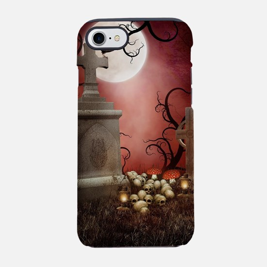 Gothic Tombstone iPhone 7 Tough Case